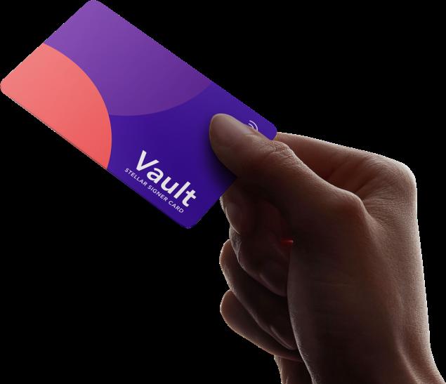 lobstr vault card